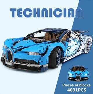 Bugatti Chiron - 4031 piezas - 57cm de largo