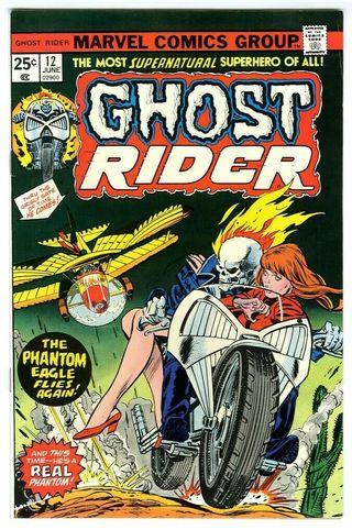 GHOST RIDER 12. 1974 SERIES. MARVEL COMICS.