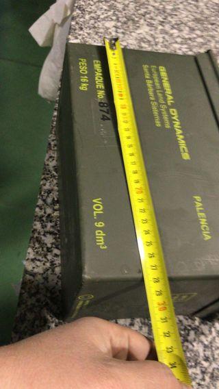 Caja estanca para municion o herramientas
