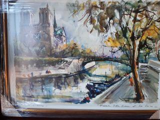 """PARIS. """" Notre Dame et la Seine"""""""