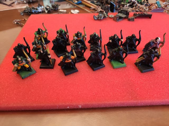 arqueros elfos silvanos
