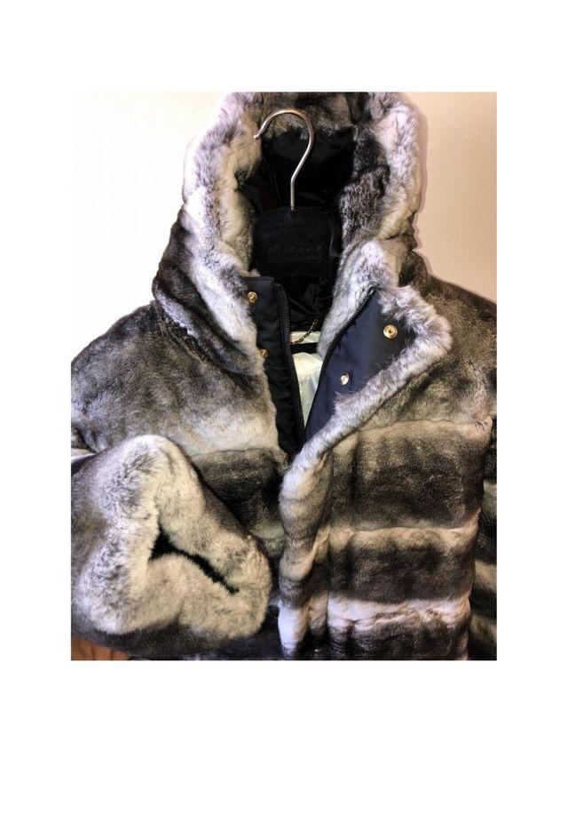 Brioni chaqueta conejo