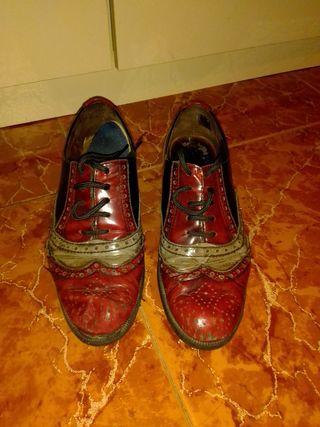 zapato mocasín mujer