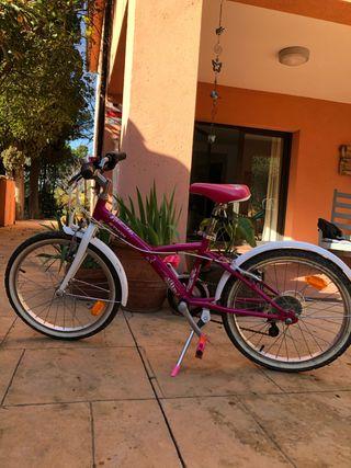 Bicicleta niña 6 - 8 años