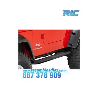 ESTRIBERAS LATERALES JEEP WRANGLER 96-04