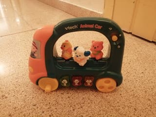Autobús Animal Car VTECH