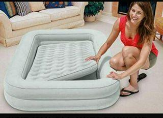 Colchón cama cuna viaje hinchable,NUEVO. Intex + h