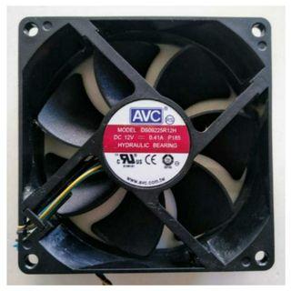 VENTILADOR PC (12V, 0,41A P185, mod DS09225R12H)