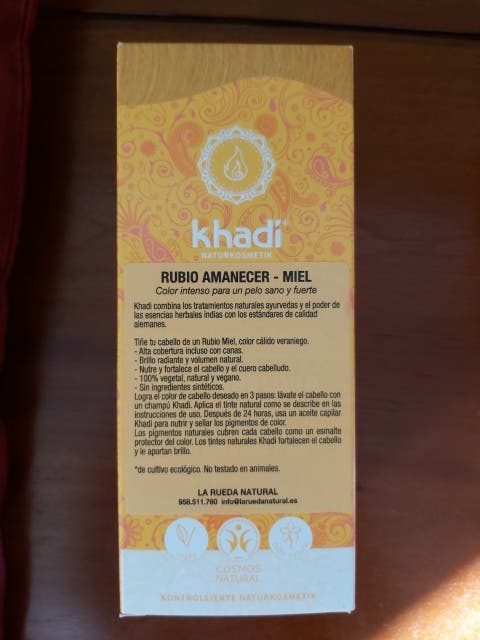 Tinte vegetal khadi - color precioso.