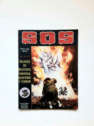 Revista SOS n.26 Cómic de fantasía terror 1981