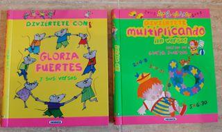2 libros infantiles Gloria Fuertes