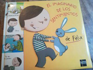 """libro infantil """"El imaginario de los sentimientos"""""""