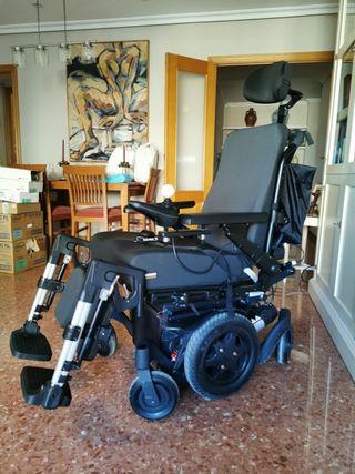 Vendo silla eléctrica absolutamente completa.