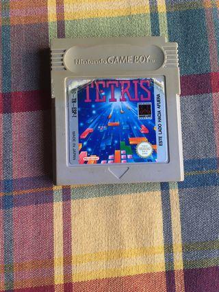 Videojuego tetris gameboy