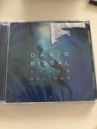 David Bisbal hijos del mar CD nuevo precintado