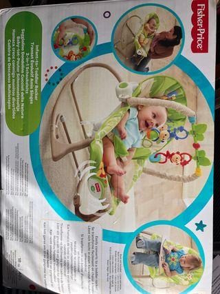 Silla-mecedora de bebé Fisher-Price