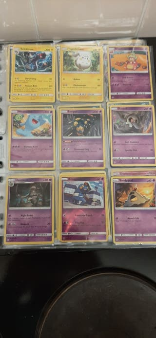 pokemon Burning Shadows Part Complete Set