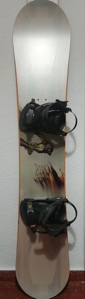 Tabla Snowboard+Fijaciones