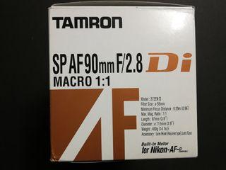 Objetivo Tamron p. Nikon 272ENII SP AF 90 mm F/2.8