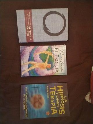 pack tres libros crecimiento personal