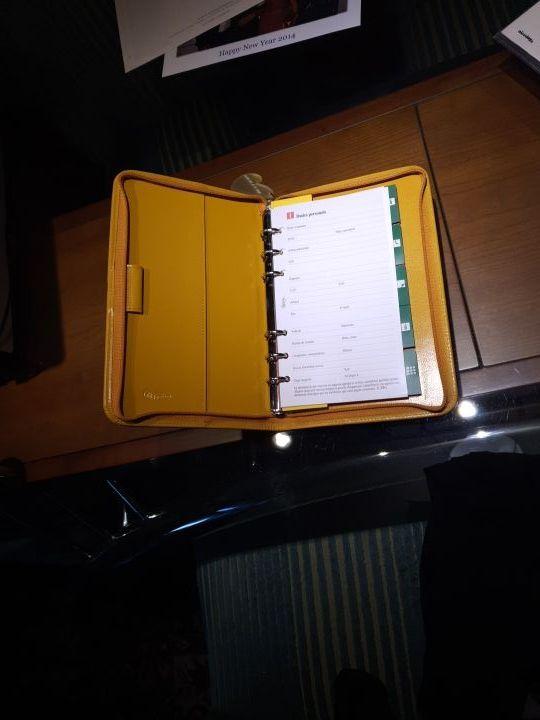 Funda agenda manual