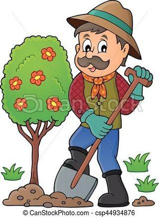 chico jardinero