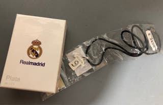 Colgante de plata del Real Madrid