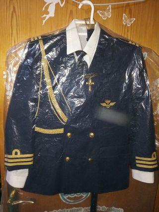 Traje de comunión de almirante