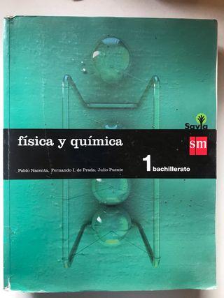 Libro de física y química I Bachillerato