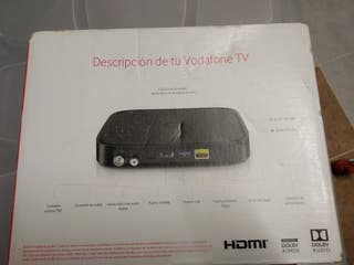 decodificador TV Vodafone