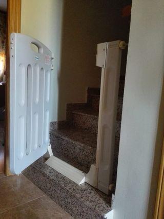 Barrera escaleras