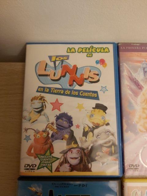 CD's películas infantiles