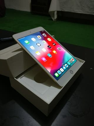 Ipad mini 4 Gold (con caja)