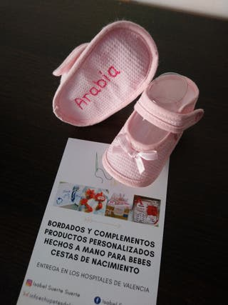 zapatitos personalizados para bebé