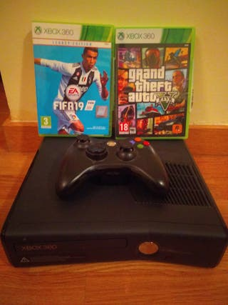 XBOX 360, GTA V, FIFA 19