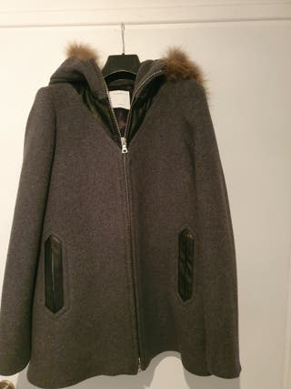 coat sandro grey new t 38