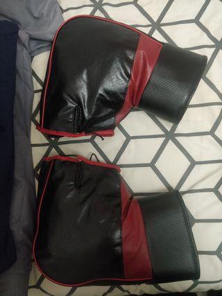 guantes moto para lluvia y frío con borrego