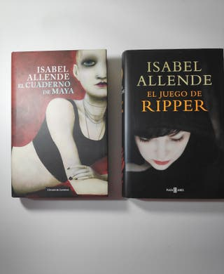2 libros de Isabel Allende. Tapa dura