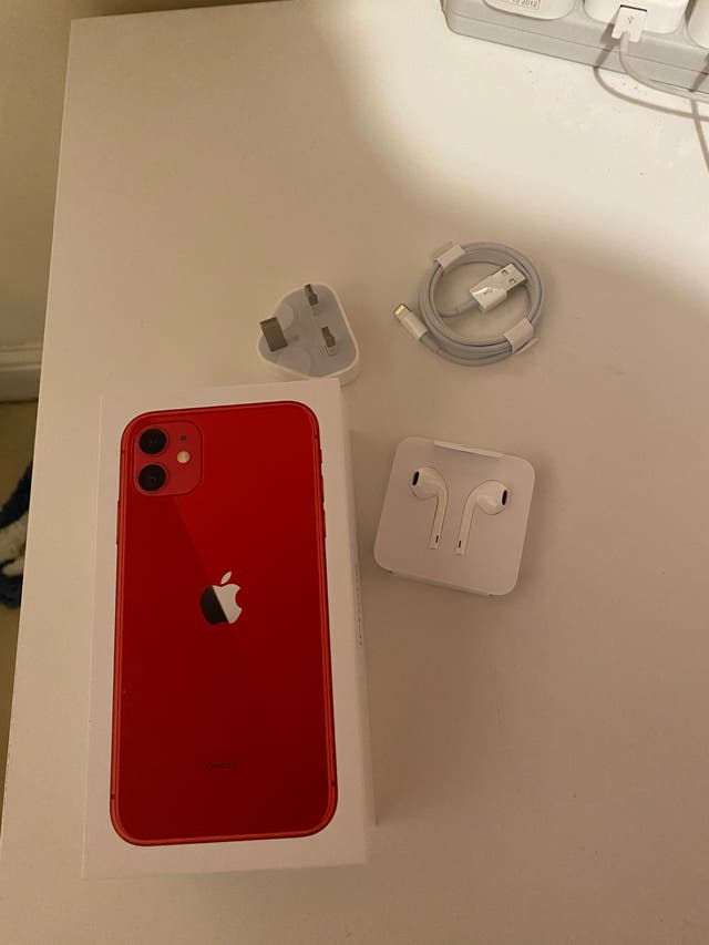 iPhone 11 new 64 gb red