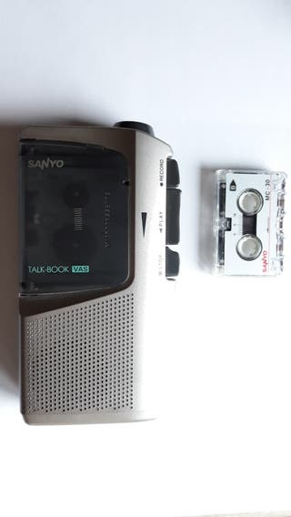 Mini cassette grabadora, tamaño paquete cigarrillo