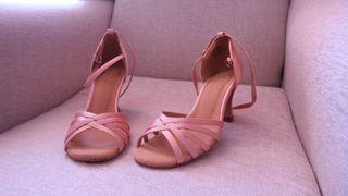 Zapatos de baile Salsa/Bachata/kizomba rosa