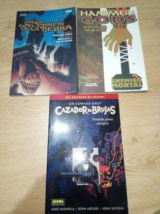 Lote de cómics Corben / Mignola / Avon