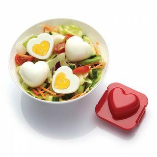 Moldes de Corazón y Estrella para Huevos cocidos