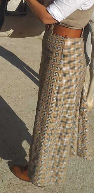 falda amazona cuadros bueberrys