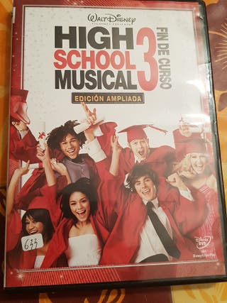 Peliculas dvd high school musical 3