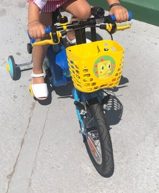 Bici infantil con ruedines