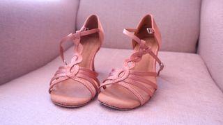 Zapatos de baile Salsa/Bachata/kizomba dorado