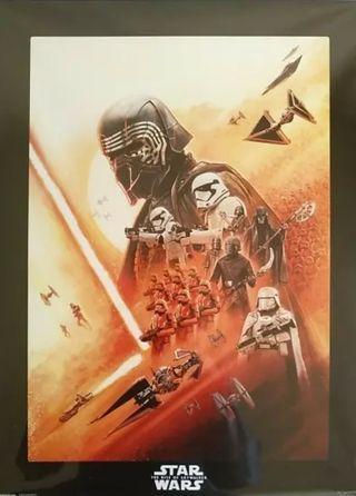 Lámina Star wars El ascenso de Skywalker