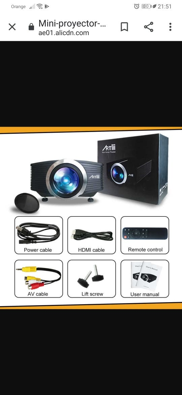 proyector multimedia led