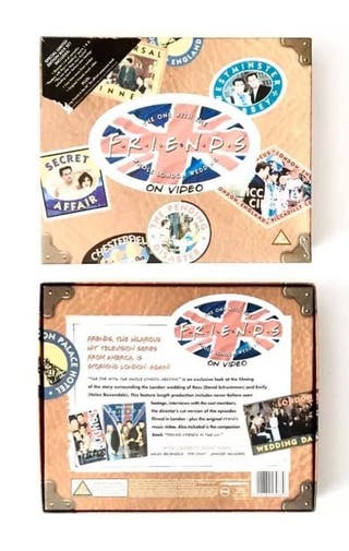 Friends Tv Show LTD VHS And Book